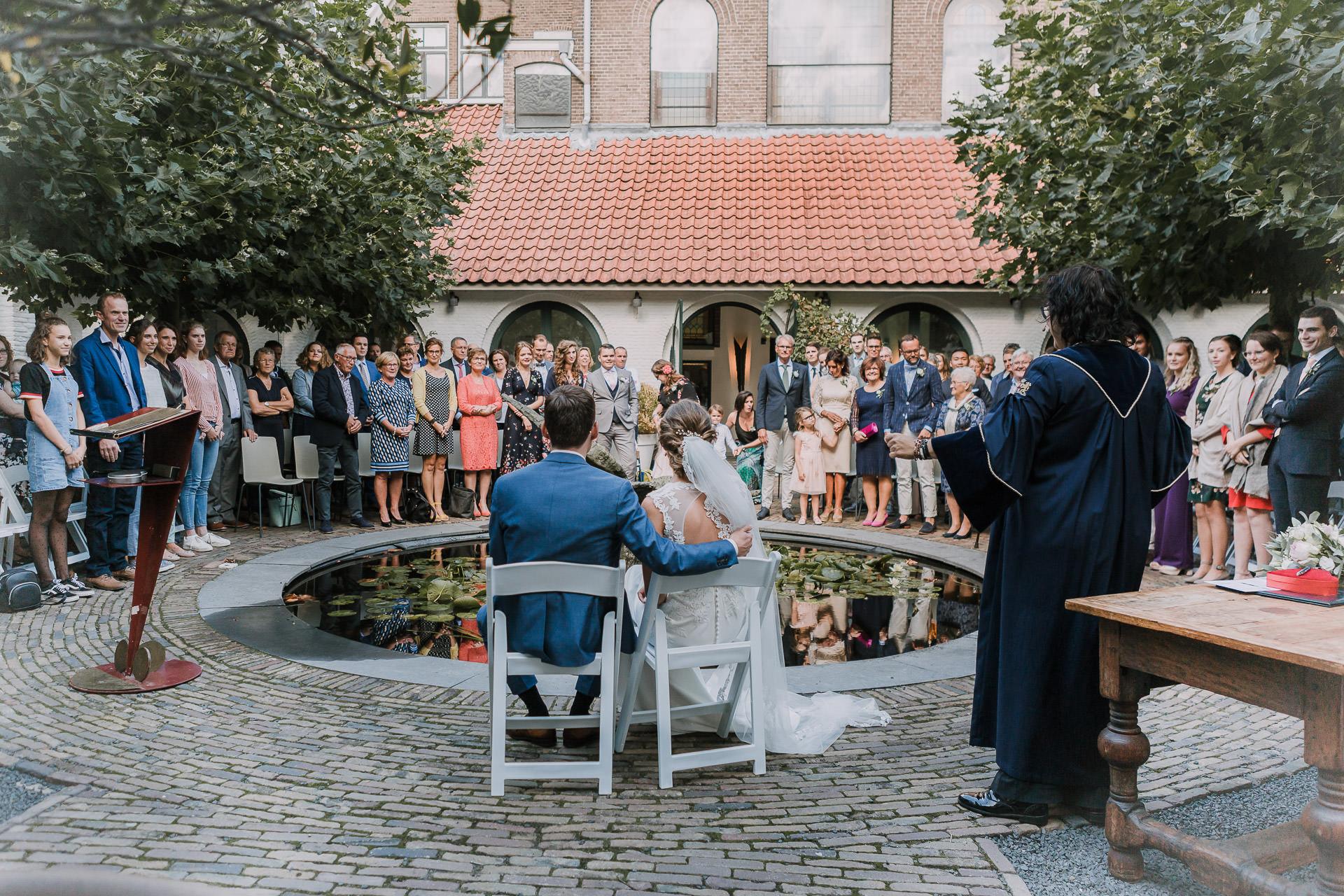 Trouwen bij Mariënhof Amersfoort