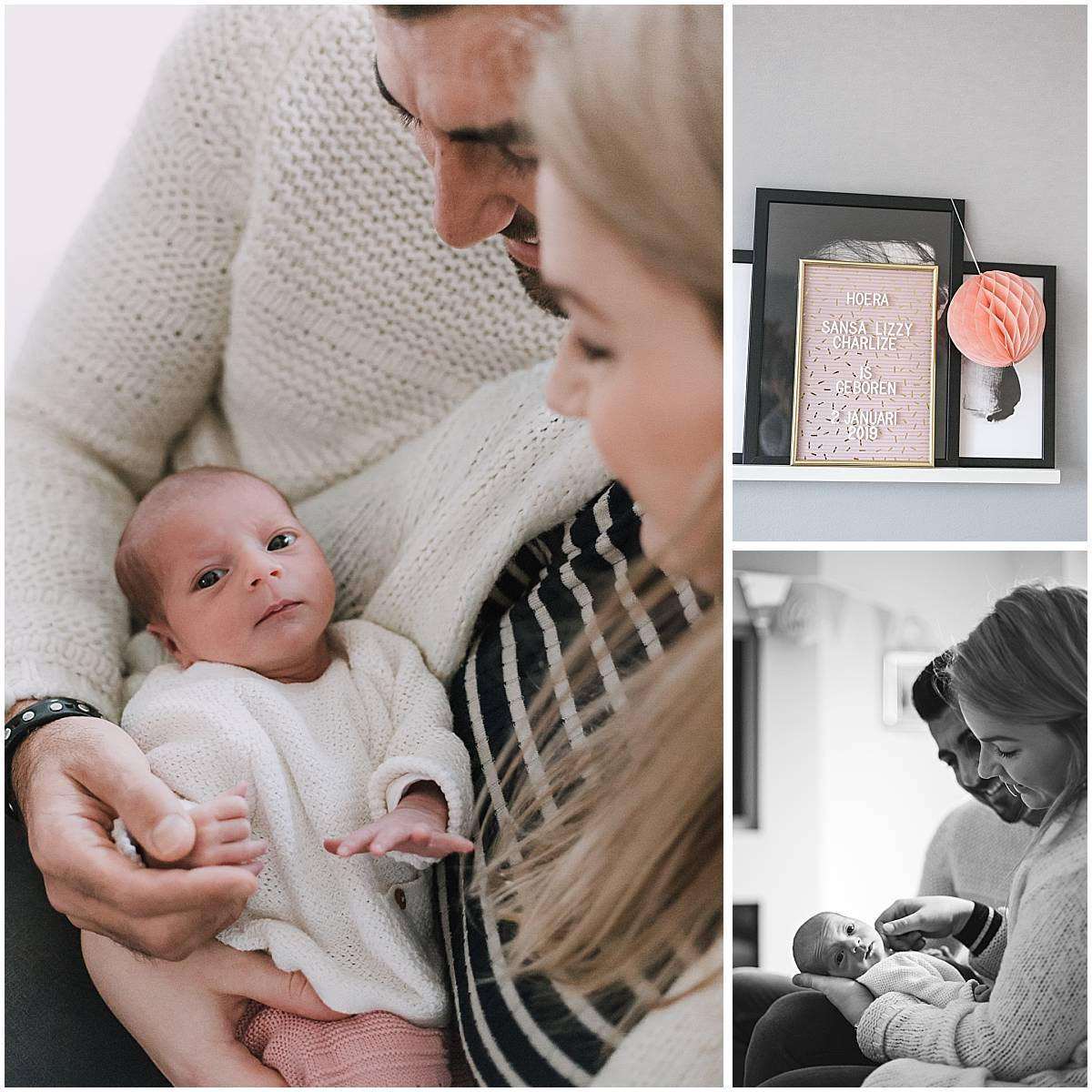Newborn fotoshoot Amersfoort